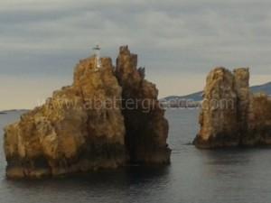 Paros portes Cyclades Greece