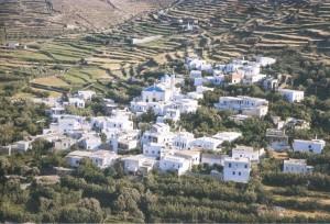 Kalloni village Tinos Greece