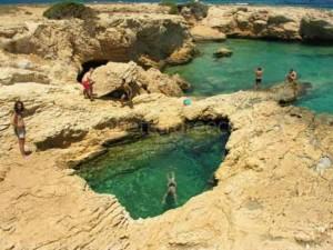 Koufonisi island beach Greece