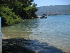 Poros island seaside, Greece