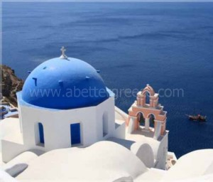 Santorini church Greece