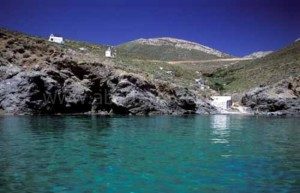 Activities on Anafi island, Cyclades, Greece