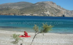 Folegandros beaches Cyclades Greece