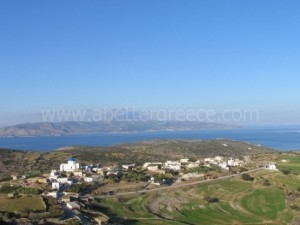Iraklia settlements Cyclades Greece