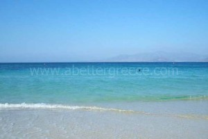 Naxos beaches Cyclades Greece