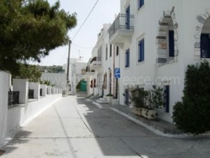 Naxos settlements Greece