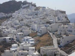 Η Χωρα στη Σέριφο