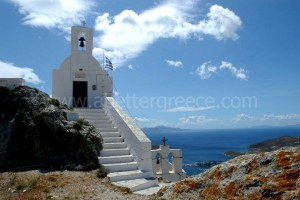 Serifos churches, Cyclades, Greece