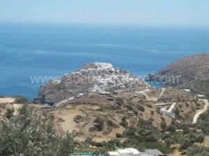 Sifnos villages, Cyclades, Greece