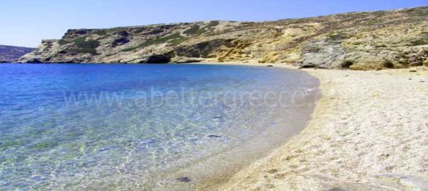Ayia Anna beach Amorgos Greece
