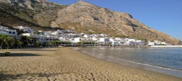 Kamares beach Sifnos Greece