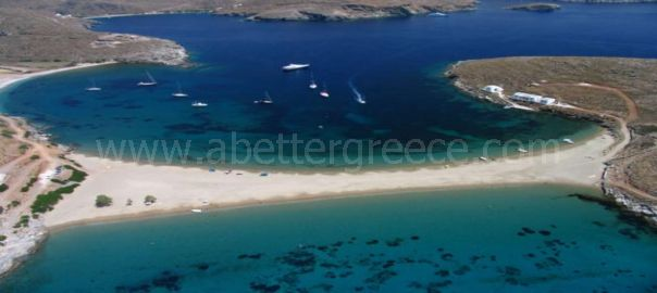 Kolona beach Kythnos Greece