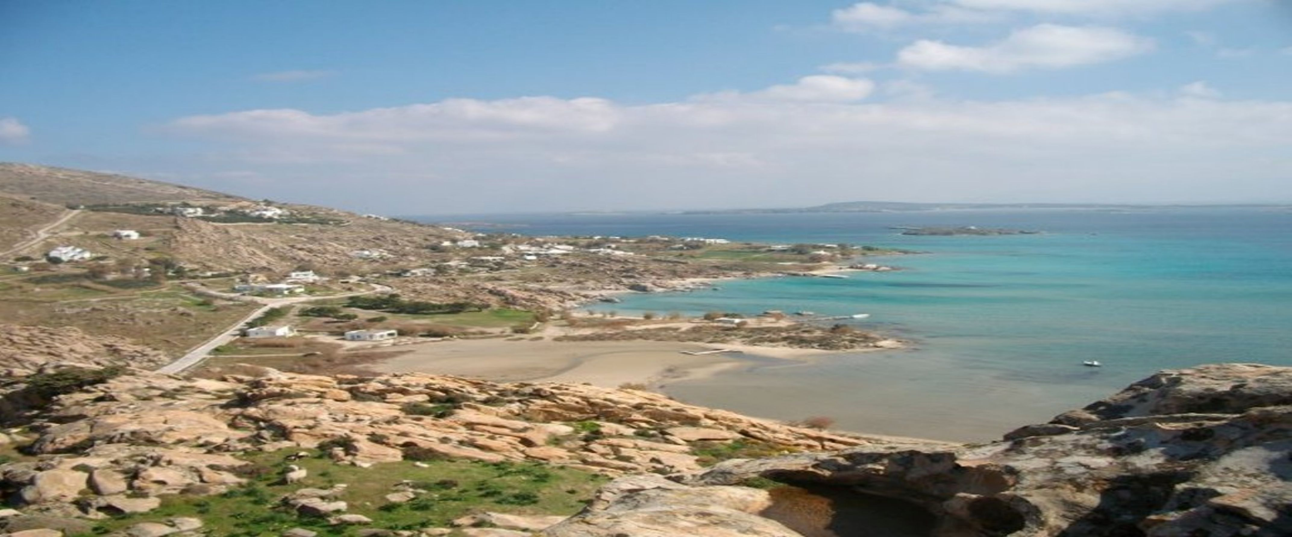 Kolybithres beach on Paros