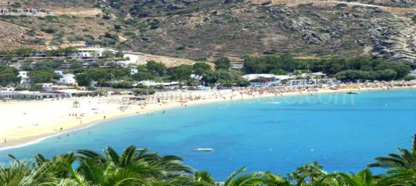 Mylopotas beach Ios Greece