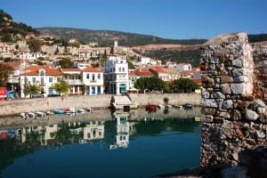 Nafpaktos harbor, Greece
