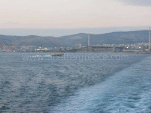 Piraeus port in Greece