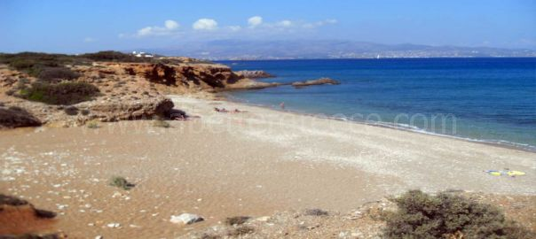 Soros beach Antiparos Greece