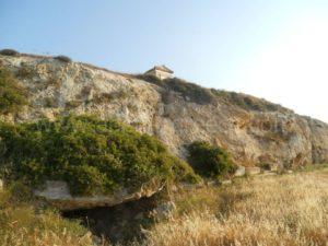 Asleipios, Pythios, Apollon site on Paros island in Greece