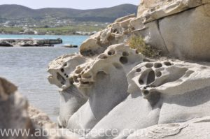 Kolybithres beach on Paros island in Greece