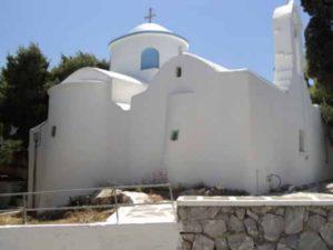 Prodromos on Paros island in Greece
