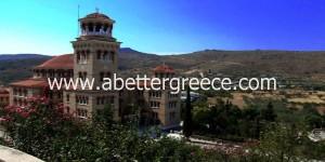 monastery on Aegina in Greece