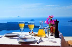 Greek white wine