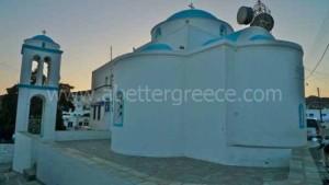 Kimolos churches Cyclades Greece
