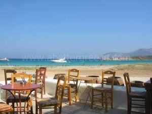 Koufonisi island taverns Greece