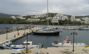 Kythnos ferries Greece
