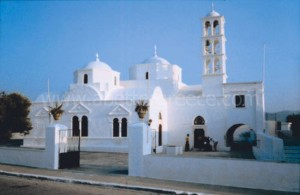 Milos churches, Greece