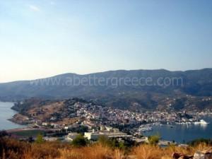 Poros island view, Greece