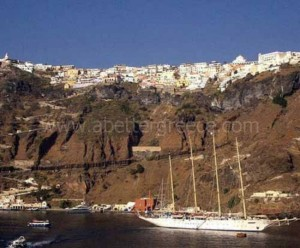 Santorini island guide Greece