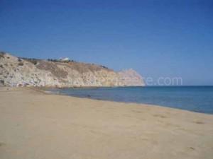 beaches on Anafi island, Greece