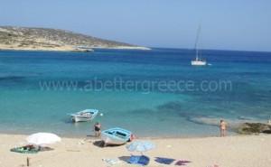 Donousa beach Greece