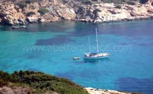 Donousa sea Greece