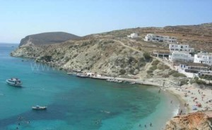 Folegandros hiking Greece