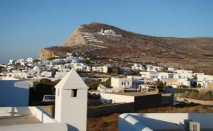 Folegandros villages Greece