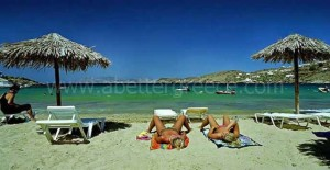 Ios beaches Cyclades Greece
