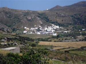 Naxos villages Greece