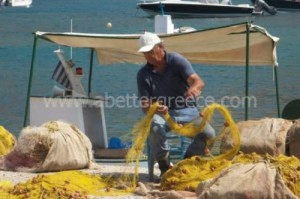Sifnos fishing, Cyclades, Greece