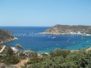 Sifnos seaside, Cyclades, Greece
