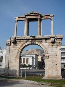 Hadrian's Arch Athens, Greece