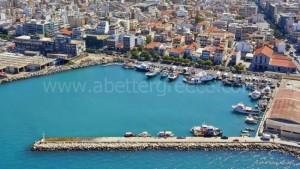 Patras port, Greece