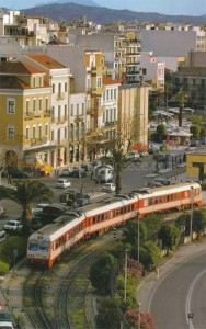 Patras town, Greece