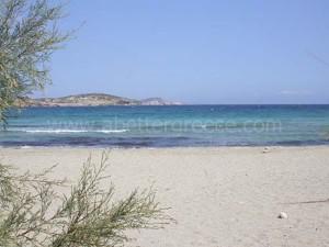 beaches on Schinnousa, Cyclades Greece