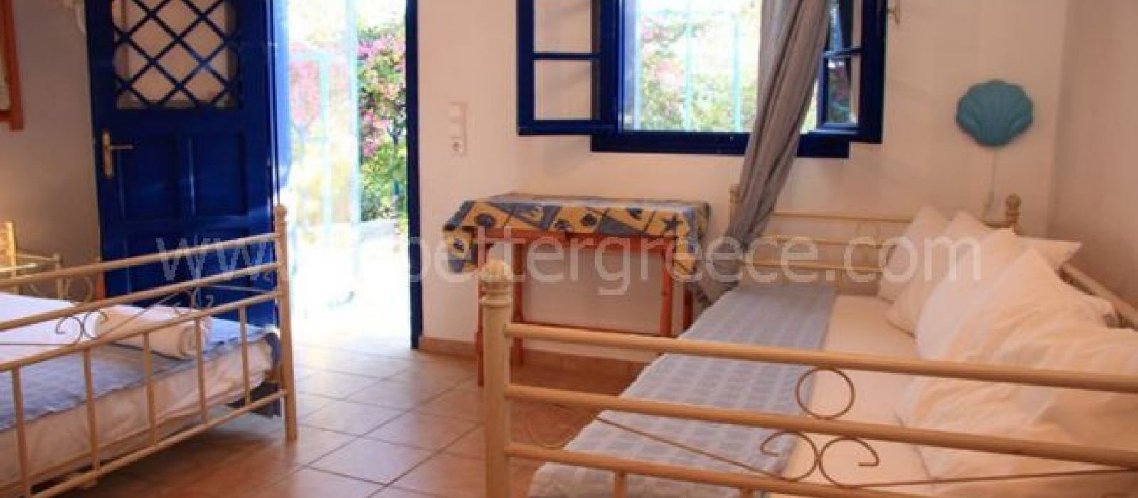 1 Bedrooms, Apartment, Vacation Rental, 1 Bathrooms, Listing ID 1170, Iraklia, Greece,